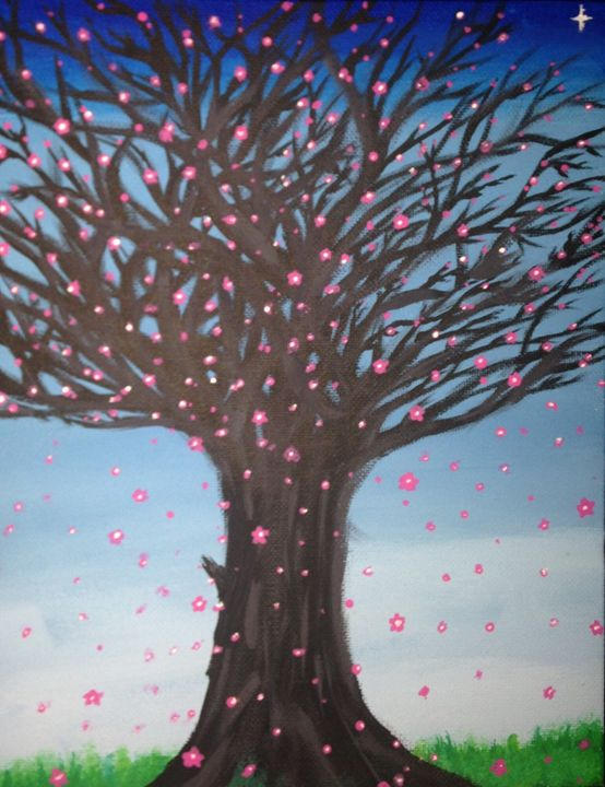 Tree - The Angels Paintings