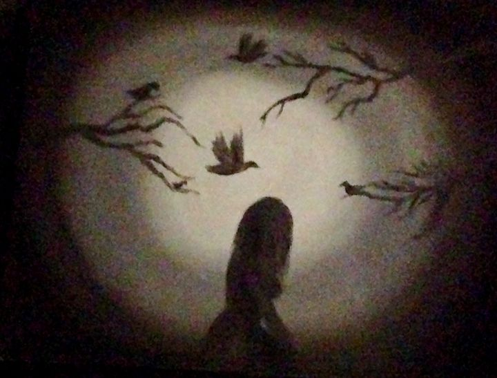 Alone in the dark - The Angels Paintings