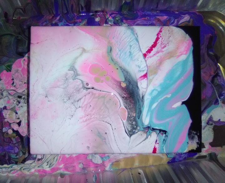 Paint Pour Piece - Art By Lyss