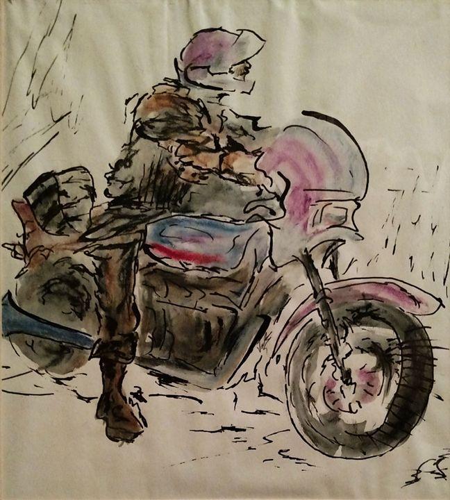 The Motorcyclist - Van Lee