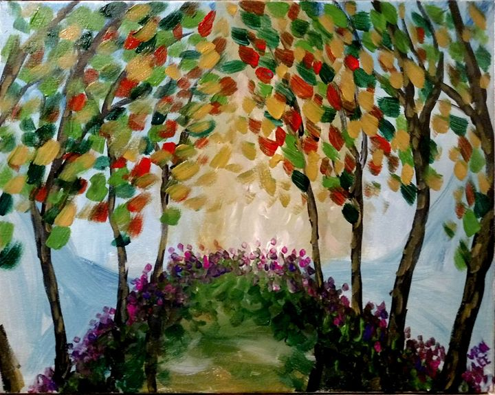 Floral Fall - Van Lee