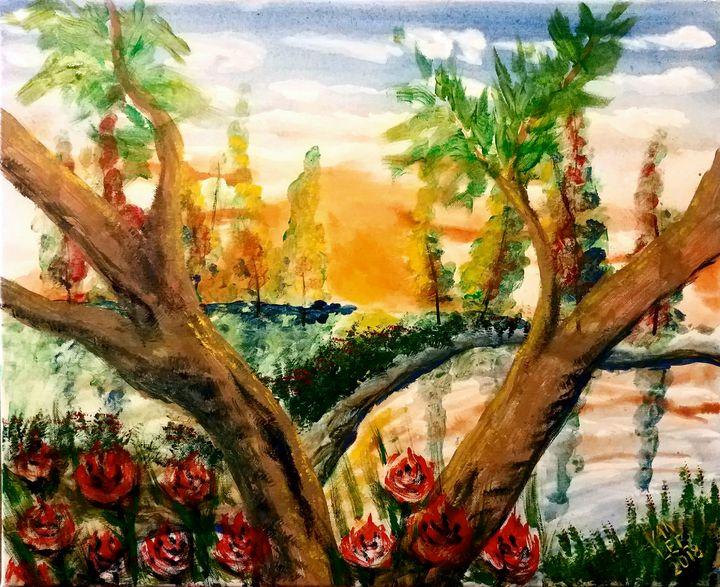 Blissful sunset - Van Lee