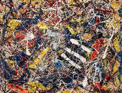 Number 17a by Jackson Pollock - Duchy renaissance