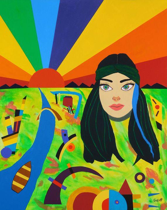 The Girl with Kaleidoscope Eyes - Frank Gelott