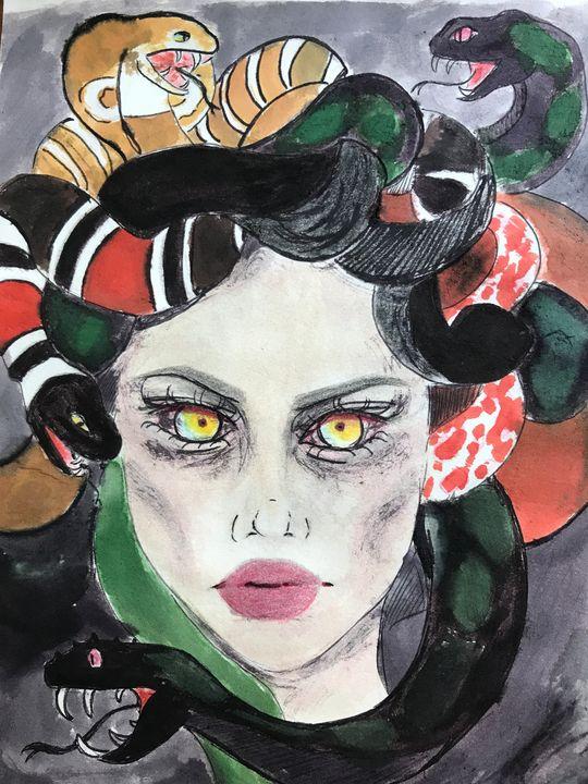 Medusa fan-art - Myu
