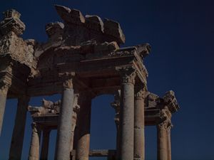 Tetrapylon Ancient Greek Archiecture