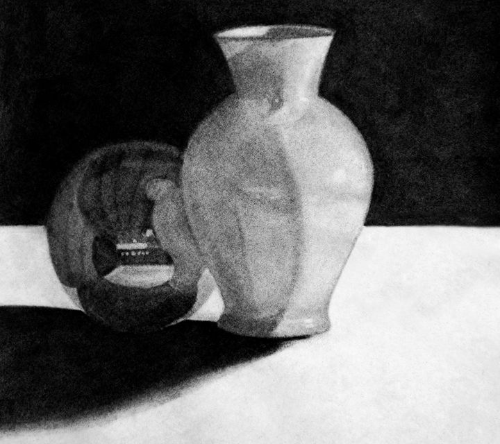 Vase with Sphere - denrees