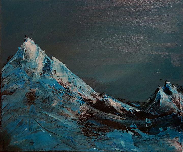 Blue Mountain in dark - dominik jedynak