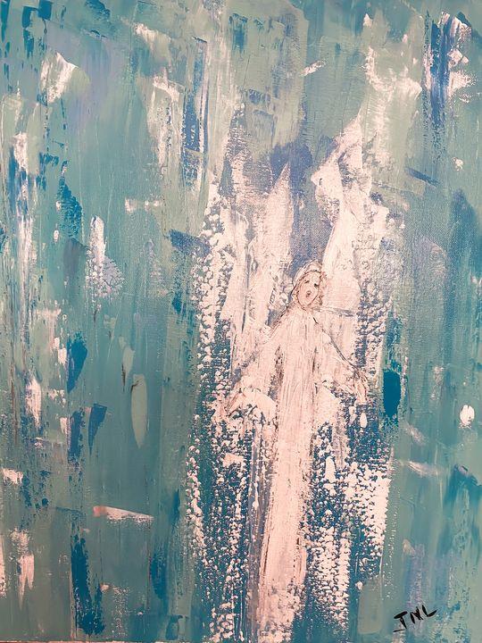 Angel Rejoicing - Angels Among Us 😇