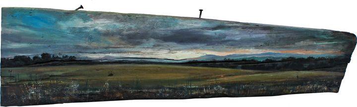 Spanish landscape. Panorama - Ekaterina Kukhareva