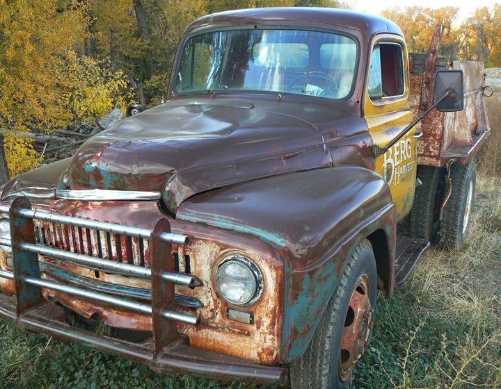 Reeds Truck - Blue Blue Sky Creations