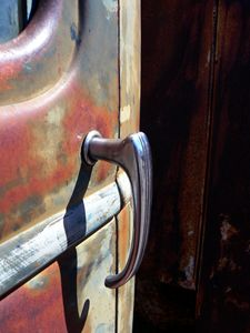 Vintage Old Truck Door Handle