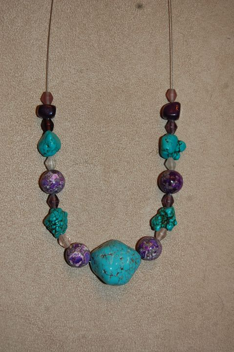 Blues and Purples - Blue Blue Sky Creations