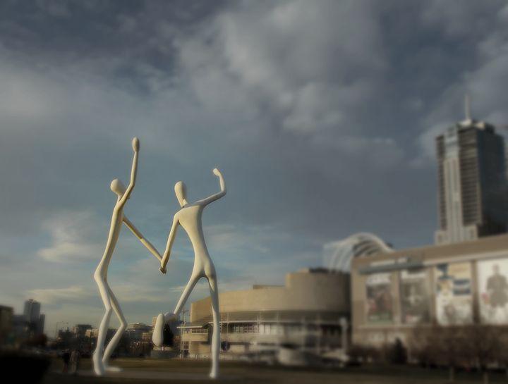 Dancing Duo - Blue Blue Sky Creations