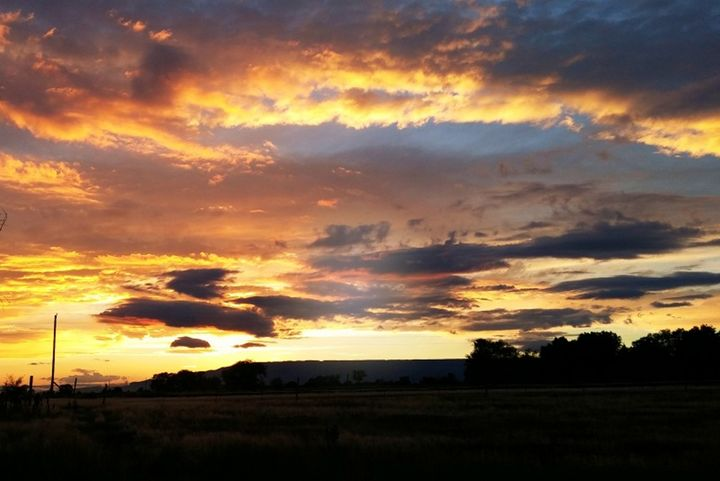 Sunset to the west - CalicoPony Creations