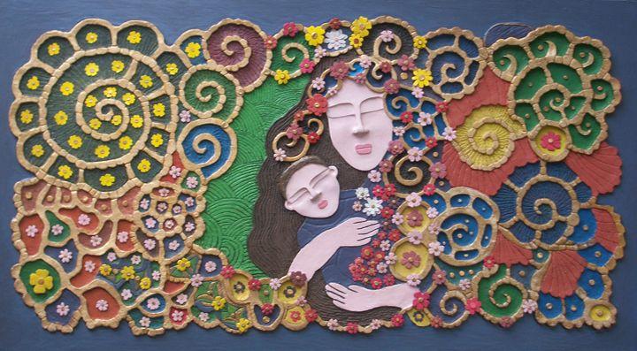 A MOTHER'S EMBRACE - Otil Rotcod's Artworks