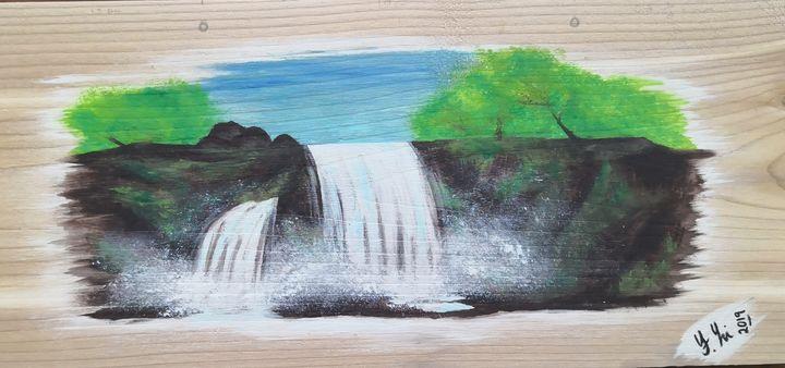 waterfall - Feiya