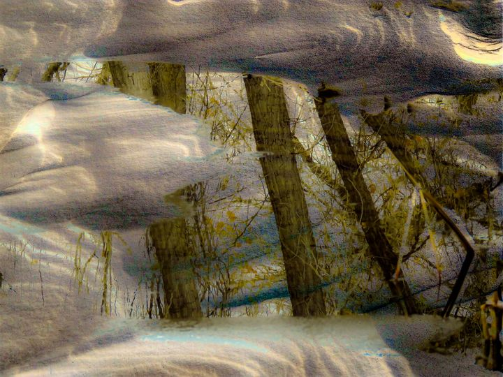 Colorado Winter Reflection - Chad Vidas Outdoors