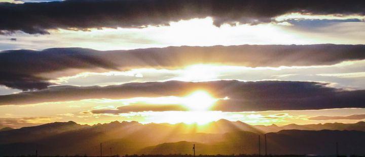 Sunset in Colorado - Chad Vidas Outdoors