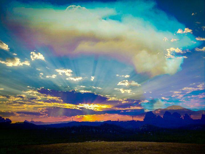 2020 sunset - Chad Vidas Outdoors