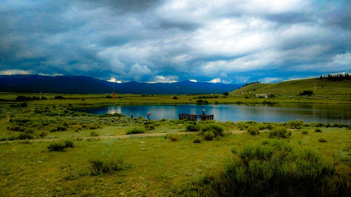 Crystal Lake In Leadville - Chad Vidas Outdoors