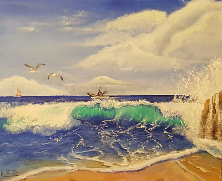 Ocean blue - Memories