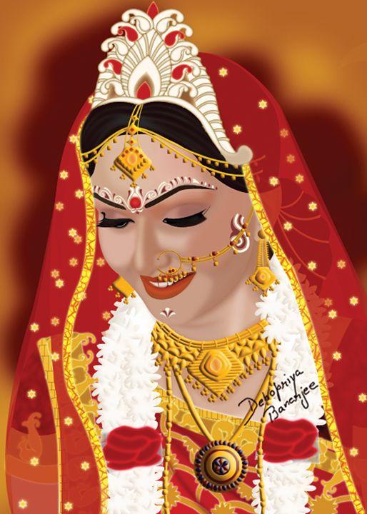 Indian Bengali Bride - Debopriya Banerjee
