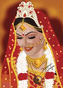 Indian Bengali Bride