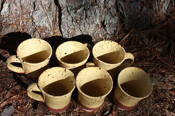 16 ounce coffee cup set - School of Pottery