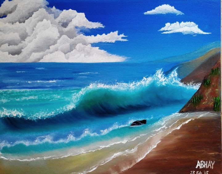 Mesemerising Waves -  Abhaykumariit2011