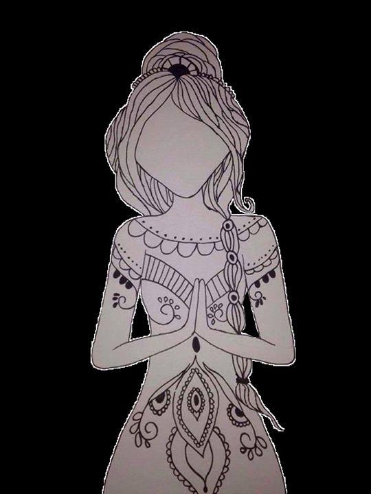 Girl Mandala - DemonicArt