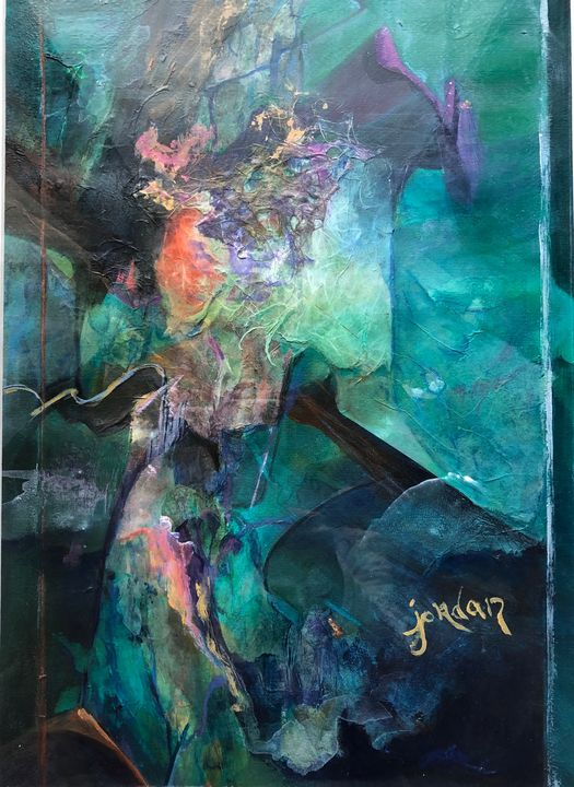 Jazzy Blues - Jordan Art Gallery