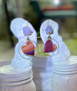 Large Hearts and Amethyst