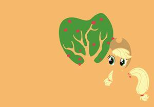 MLP - Minimal Apple Jack Poster