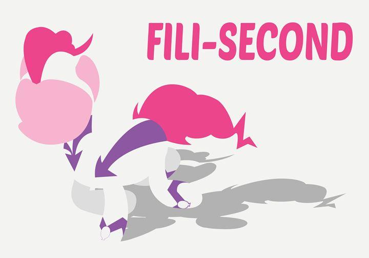 MLP Minimal Fili-Second Poster - JohnTakacsDesign