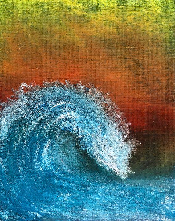Crashing wave - Bryan J McCullough