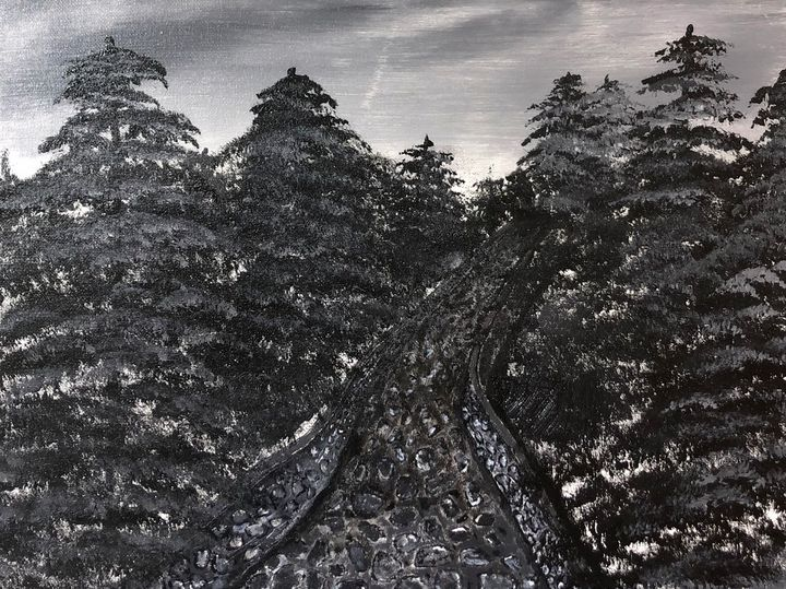 Dark walk - Bryan J McCullough
