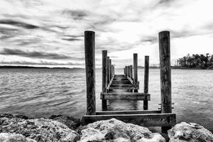 Old Dock Downeast North Carolina