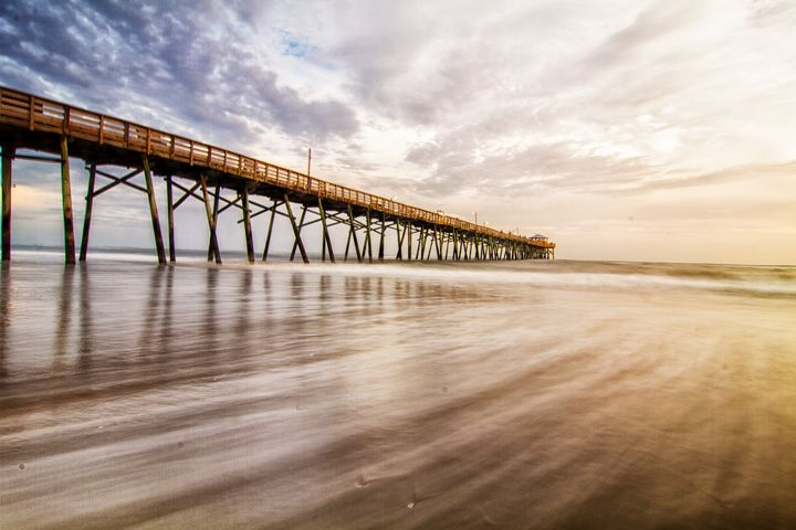 Oceanic Fishing Pier Atlantic Beach - Bob Decker