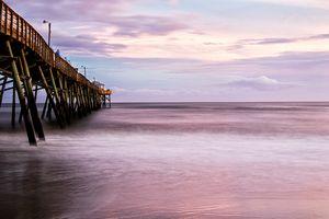 Oceanana Fishing Pier at Sunset