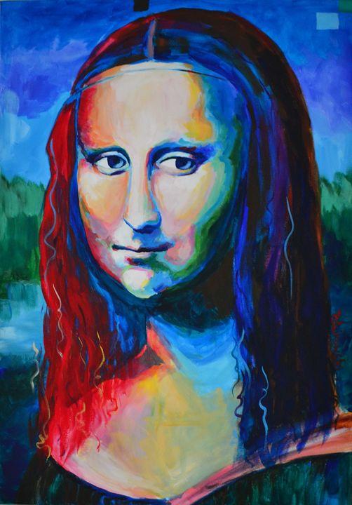 Mona Lisa interpretation - NewArtPM