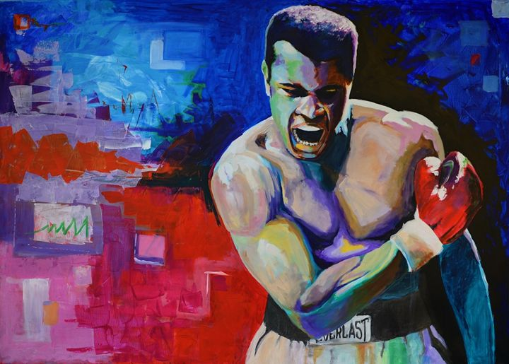 Muhammad Ali - NewArtPM