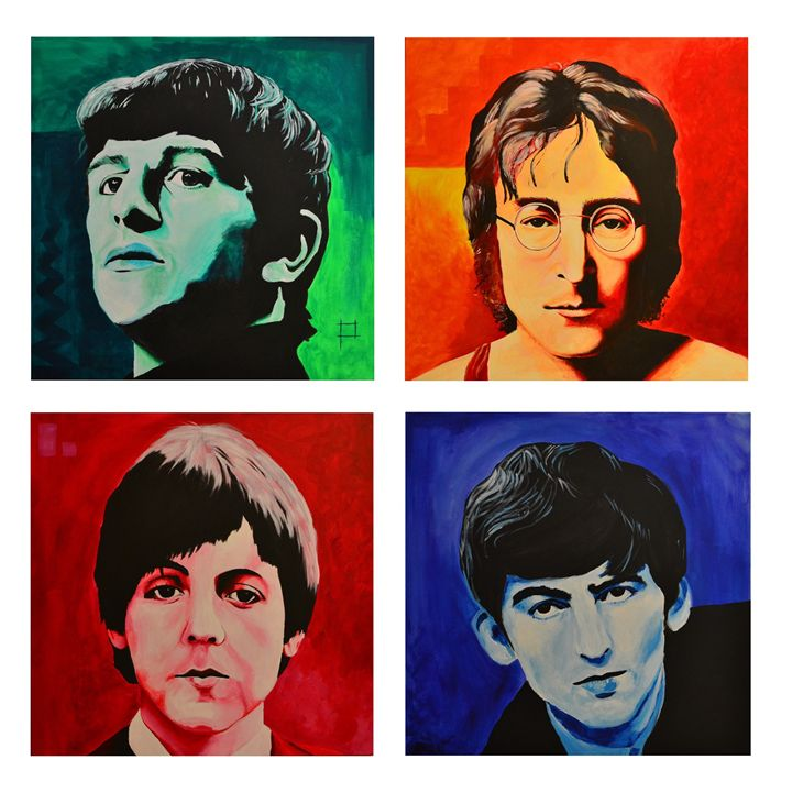 the Beatles - NewArtPM