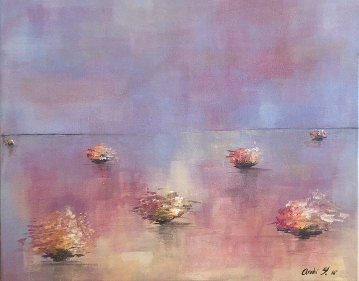 Entre ríos púrpuras - Anahi Galindo