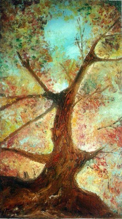 TREE IN AUTUMN - 2 - Nirali