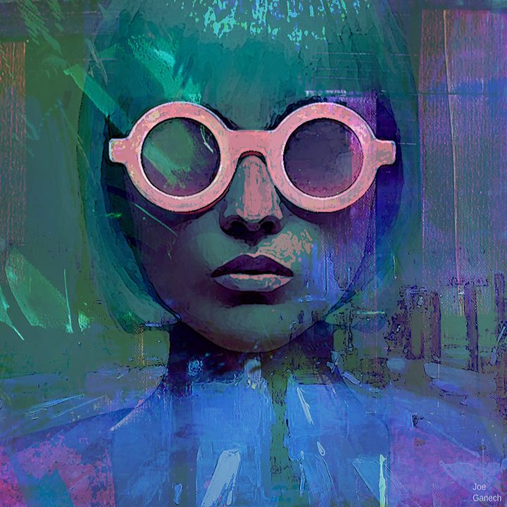 Pink Glasses Girl - Joe Ganech