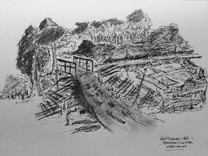 Gettysburg 1863 - Hamel
