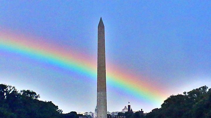 Rainbow in DC - Spectrum-216