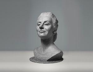 Maria Callas sculpture - Sissy Piana