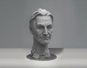 Charlie Watts sculpture
